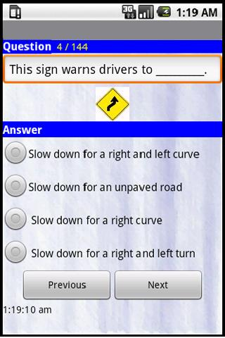 Tennesse Driving Tests - 2013