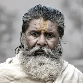 by Rajib Kumar Bhattacharya - People Portraits of Men