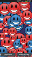 Screenshot of Smiley Pro Live Wallpaper