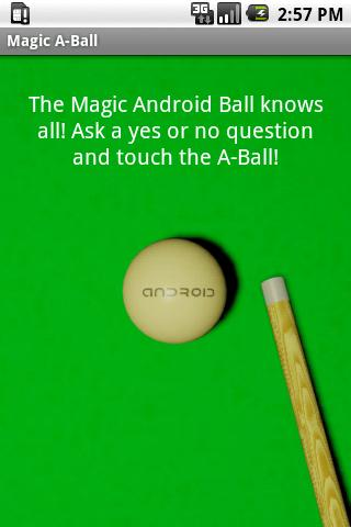 The Magic A-Ball