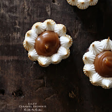 Carmel Brownie Tarts