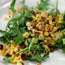 Wild Rocket and Grilled Corn Salad