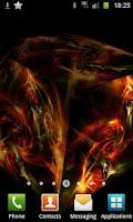 Screenshot of 3D Fire Art