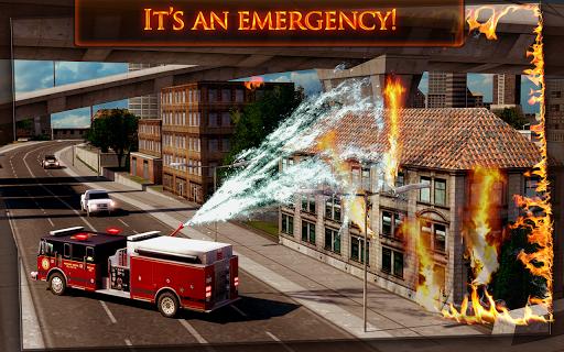 Fire Truck Emergency Rescue 3D - screenshot
