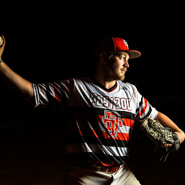 Pitcher by Jimmy Rash - Sports & Fitness Baseball ( dt, 2014, post 300, legion baseball, doniphan-trumbull, u-save )