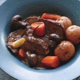 Italian Pot Roast with Potatoes & Carrots