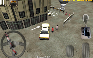Screenshot of Taxi Driver 3D Cab parking