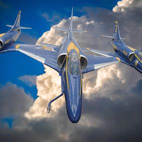 Blue Angels by Jon Cody - Transportation Airplanes ( transportation, jets, miltiary, planes, air planes, blue angels, aircraft, helicoptors )