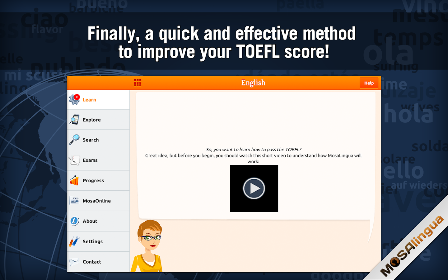 Learn TOEFL Vocabulary Screenshot 10