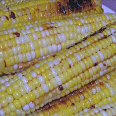 Caramel Corn on the Cob Seasoned With Chipotle Peppers !