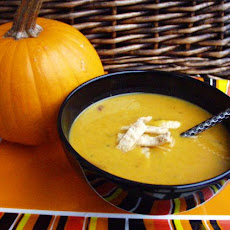 Pumpkin Soup with Asian Flavors