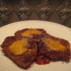 Pork Cutlets Parmesan with Tomato Sauce