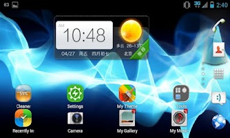 Screenshot of 360 Launcher Sony Theme