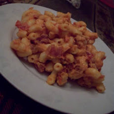 Canadian Bacon Macaroni and Cheese