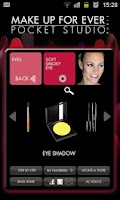 Screenshot of MAKE UP FOR EVER Pocket Studio
