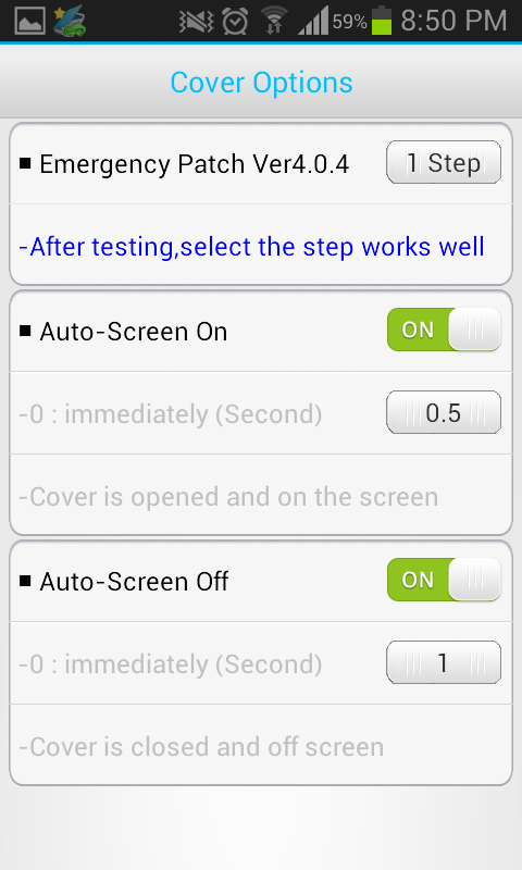 Smart Cover Pro (Screen Off) Screenshot 3
