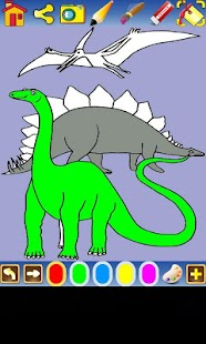 Coloring kids,learn to paint - screenshot