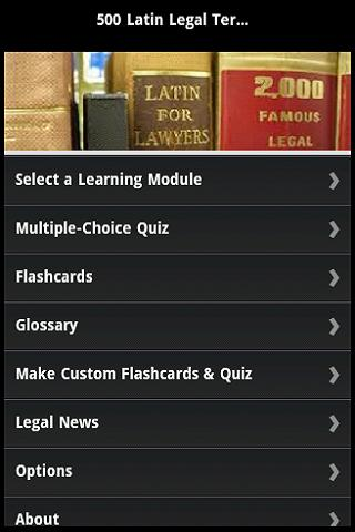 500 Latin Legal Terms by Quiz