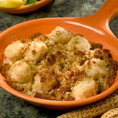 Awesome Baked Sea Scallops