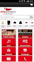 Screenshot of SPICEWORLD Shop