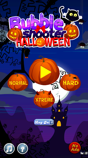 Bubble Shooter Halloween - screenshot