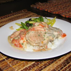 20-Minute Tomato Basil Pork Chops