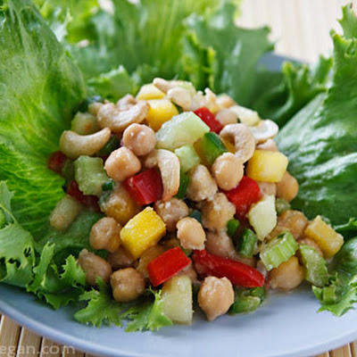 Thai-Inspired Chickpea Salad