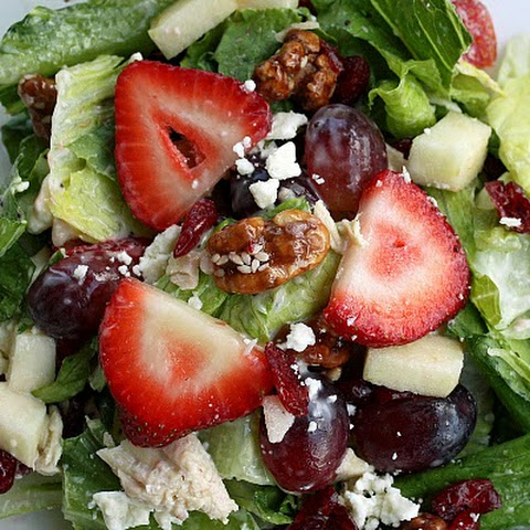 Chick Food…Fruit and Nut Salad