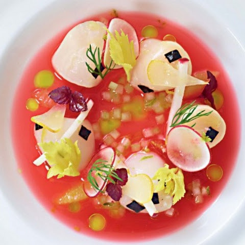 Nantucket Scallop Ceviche, Blood Orange Sauce From 'Daniel'