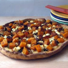 Butternut Cranberry Sauce Pizza