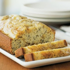 Poppy Seed Bread with Lemon Curd