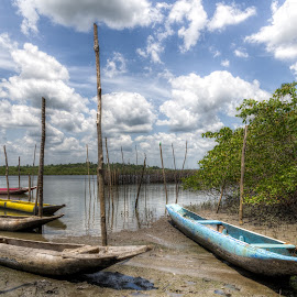 Santiago do Iguape by Aldemir Vieira - Transportation Boats ( hdri, iguape, santiago, cachoeira )