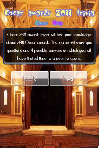 【免費解謎App】Oscar Awards 2011 trivia-APP點子