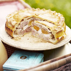 Rustic Chicken & Apricot Pie