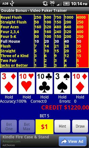 Video Poker - Double Bonus