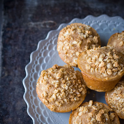 Berry Granola Streusel Muffins