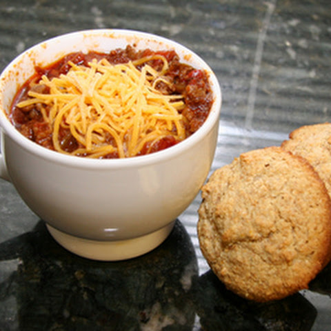 Spicy Chili With Ground Beef and Pork