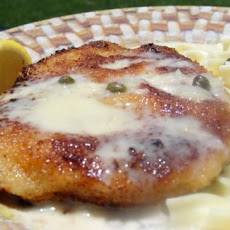 Pork Schnitzel With Lemon-Caper Cream
