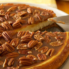 Pecan and Salted Caramel Cheesecake Recipe