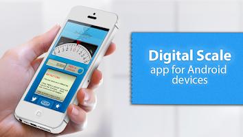 Screenshot of Digital Scale real scale app