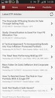 Screenshot of ETF Investor