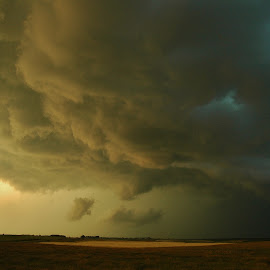 Stormy by Ron Keller - Landscapes Weather ( clouds, weather, south dakota, scenic, landscape, storm )