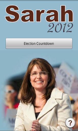 Elect Sarah Palin Countdown
