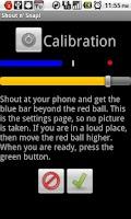 Screenshot of Shout n' Snap Lite