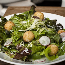Fried Goat Cheese Salad Recipe