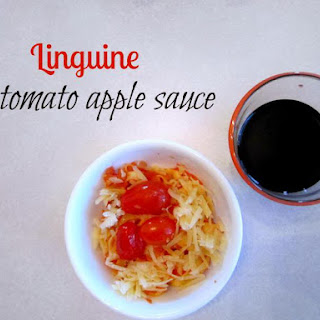 Linguine In Tomato Apple Sauce