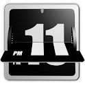 3D Animated Flip Clock PRO icon