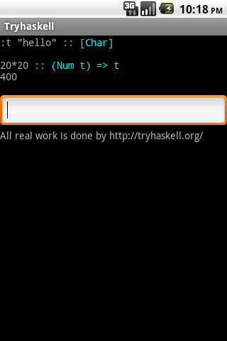 Try Haskell