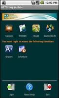 Screenshot of HETGroup Mobile Student