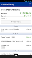 Screenshot of Redstone Federal Credit Union